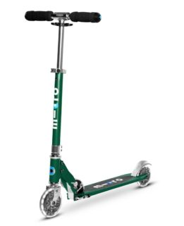 Micro Sprite LED Forest Green | Micro Scooters Perth