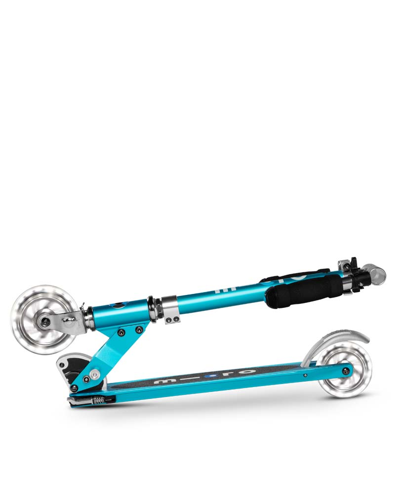 Micro Sprite LED Ocean Blue | Micro Scooters Perth