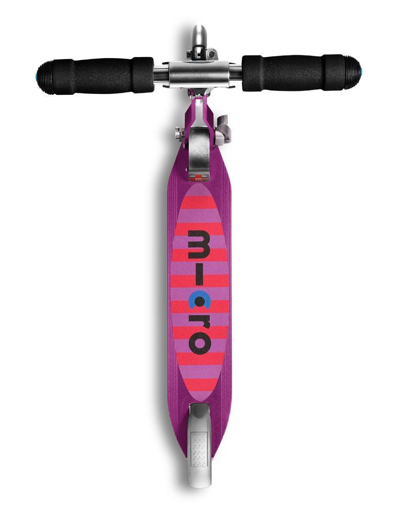 Micro Sprite Led Purple Stripe | Micro Scooters Perth