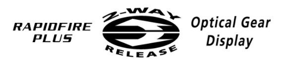 RapidFire Plus | 2 Way Release | Optical Gear DIsplay