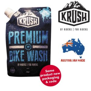 Krush Premium Bike Wash Pouch