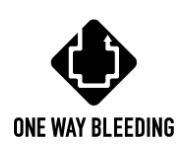 Shimano One Way Bleeding