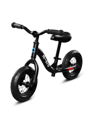 Micro Balance Bike Black | Micro Scooters Perth