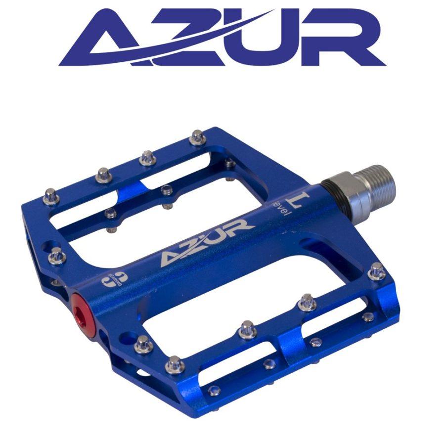 Azur Clutch Pedal Blue   Azur Pedals Perth