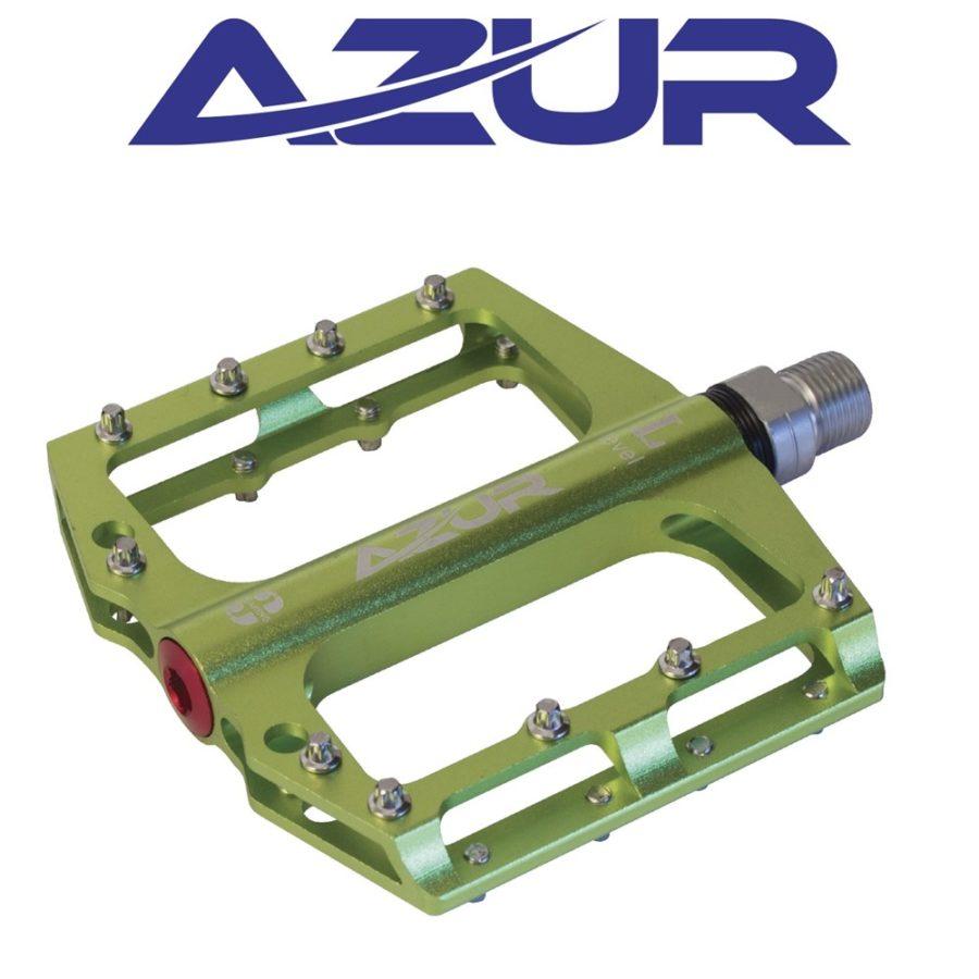 Azur Clutch Pedal Green | Azur Pedals Perth