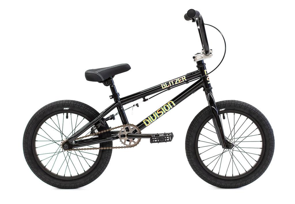 Division Blitzer BMX Black   BMX Bikes Perth