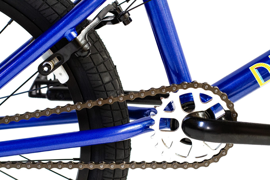 Division Blitzer BMX Metallic Blue   BMX Bikes Perth