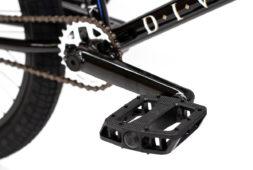Division Reark BMX Gloss Black   BMX Bikes Perth