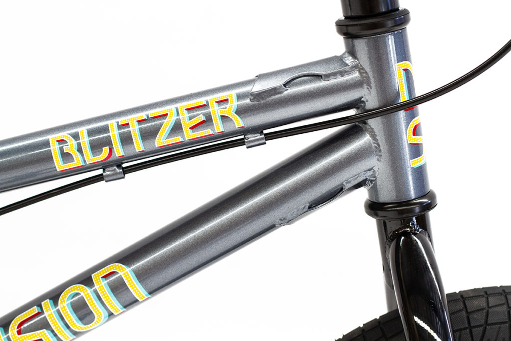 Division Blitzer BMX Metal Grey | BMX Bikes Perth