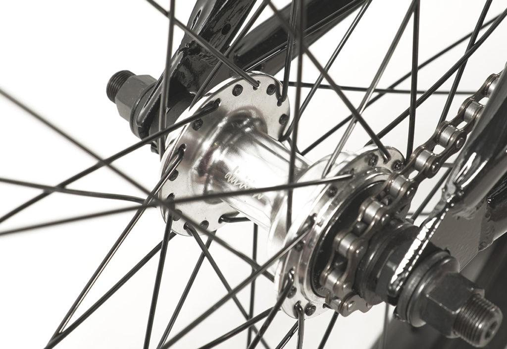 Division Brookside BMX Black Polished   BMX Bikes Perth