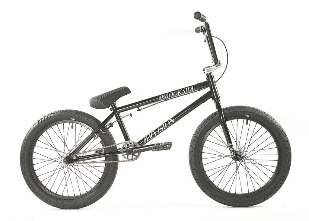 Division Brookside BMX Black Polished | BMX Bikes Perth