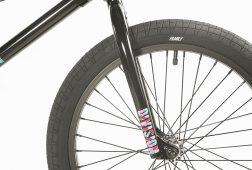 Division Reark BMX Black   BMX Bikes Perth