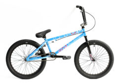 Division Reark BMX Crackle Blue | BMX Bikes Perth