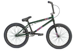 Division Reark BMX Crackle Green | BMX Bikes Perth