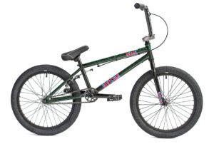 Division Reark BMX Crackle Green   BMX Bikes Perth