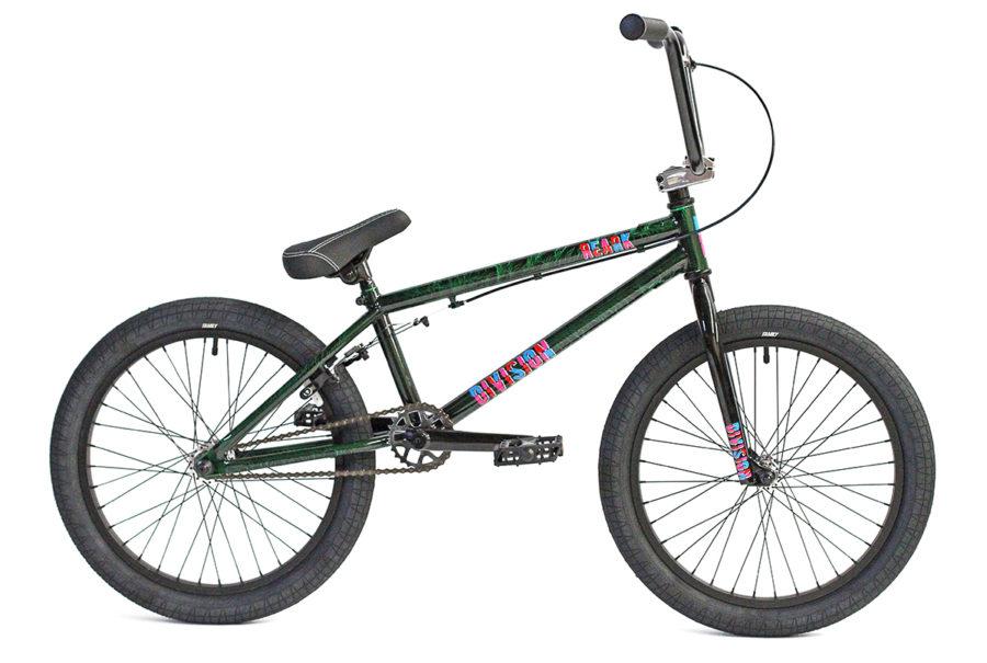 Division Reark BMX Crackle Green | BMX Bikes Perth