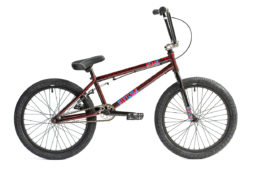 Division Reark BMX Crackle Red | BMX Bikes Perth
