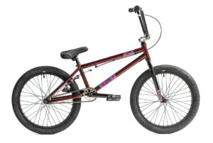 Division Reark BMX Crackle Red | BMX Bikes Perth