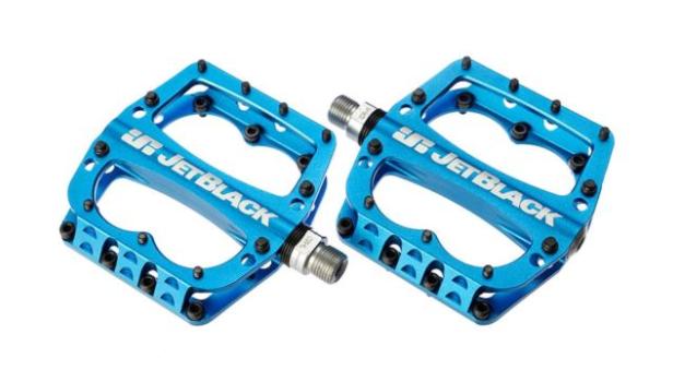 JB Superlight MTB Pedals Blue | JetBlack Pedals