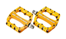 JB Superlight MTB Pedals Gold | JetBlack Pedals