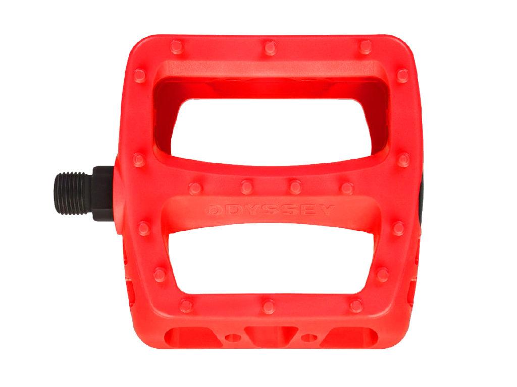 Odyssey PC Twisted Pedals Red | Odyssey BMX