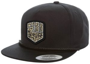 Fist Croc Badge Snapback Cap Black | Fist Handwear
