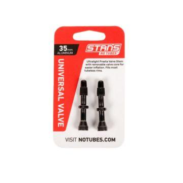 Stans Universal Valve 35mm Black Aluminium