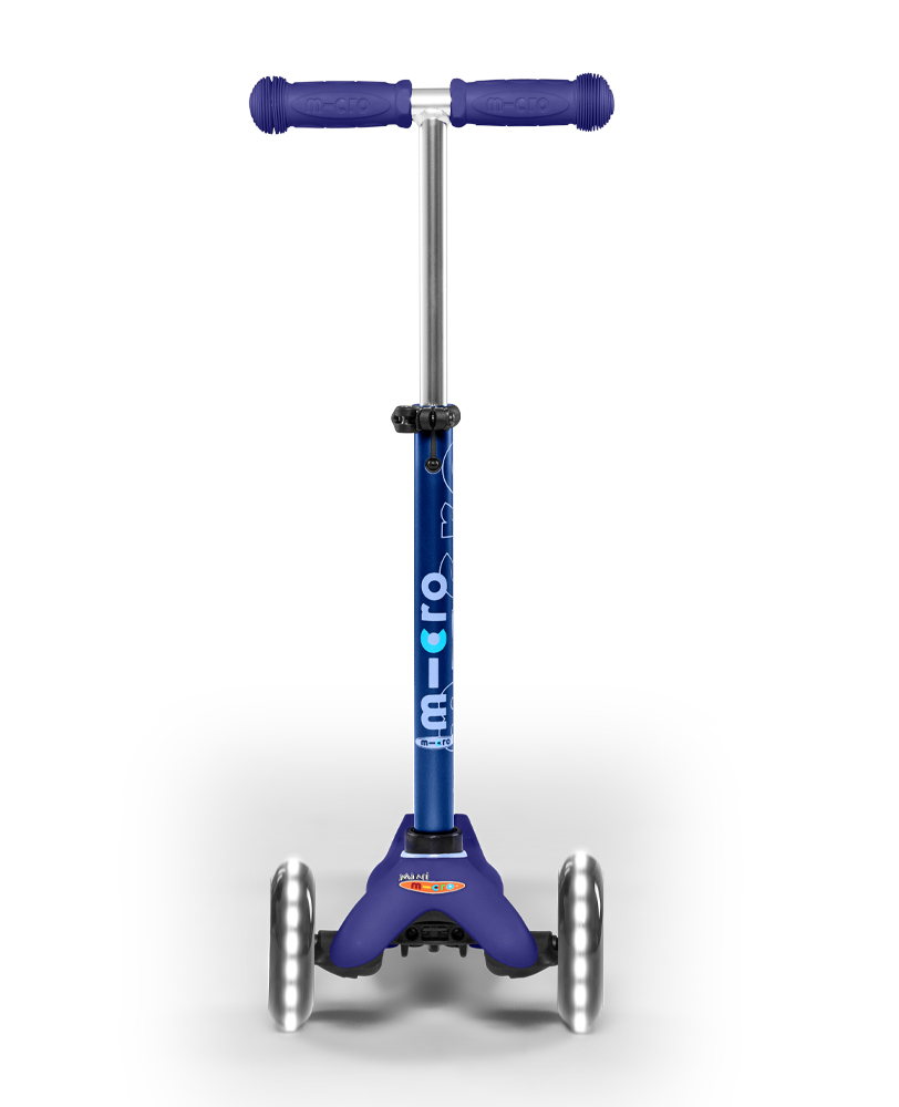 Mini Micro Deluxe LED Blue Scooter | Micro Scooters Perth